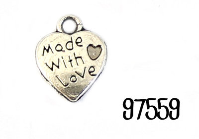 """Bedeltje """"Made with love"""""""