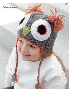 Kid's Cap Owl 73 Gris
