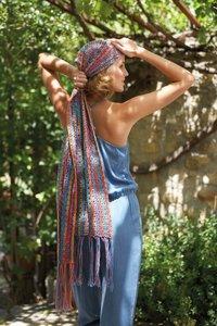 Jaipur - gehaakte sjaal