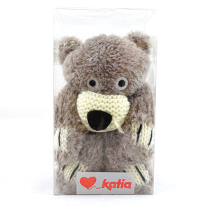 Teddy Bear Scarf 51 Beige