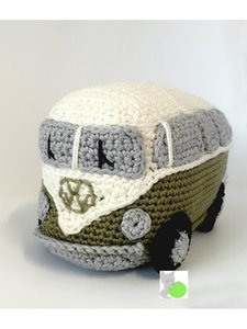 Paquet à crocheter : VW-Van Vert