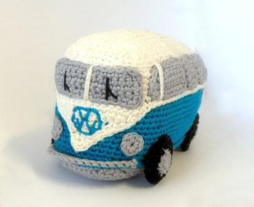 Haakpakket VW-busje Blauw